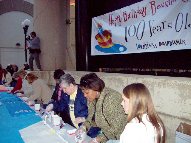 Bossier's 100 year birthday celebration!