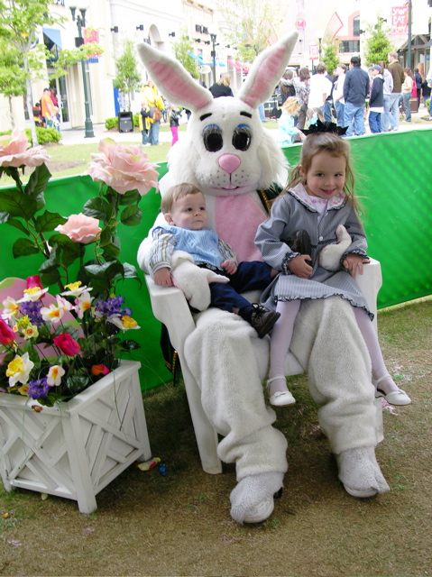 Easter Bunny On the Boardwalk