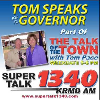 Newspaper Ad for Tom P. with Gov. Blanco Interview Series