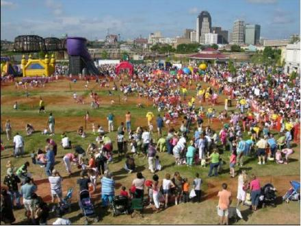 29,000 Attended Easter Eggstravaganza @ Louisiana Boardwalk